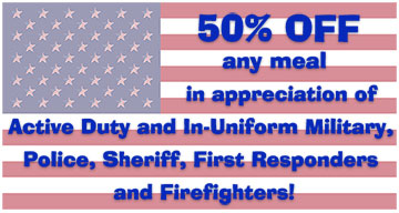 Military, Police and First Responders Discount